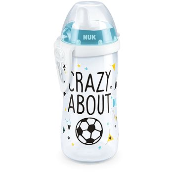 NUK FC Kiddy Cup Láhev fotbalová edice 300 ml (4008600301417)