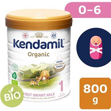 Kendamil 100% BIO plnotučné kojenecké mléko 1, 800 g (5056000501493)