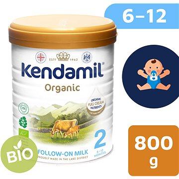 Kendamil 100% BIO plnotučné kojenecké mléko 2, 800 g (5056000501509)