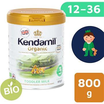 Kendamil 100% BIO plnotučné kojenecké mléko 3, 800 g (5056000501516)