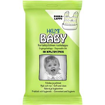 HELMI BABY ekologické jednorázové bryndáčky 10 ks (6414100139555)