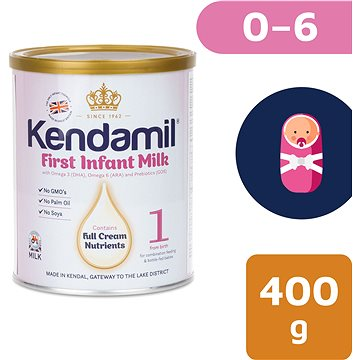 Kendamil kojenecké mléko 1, 400 g (5056000501936)