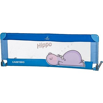 Caretero Mantinel do postýlky Hippo - modrý (5902021520008)