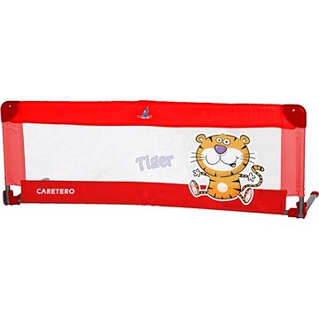 Caretero Mantinel do postýlky Tiger - červený (5902021522415)