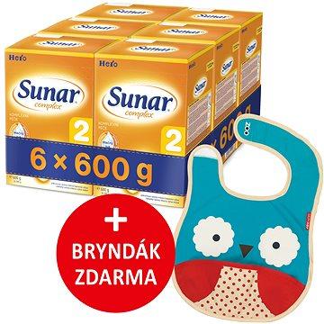 Sunar Complex 2, 6× 600 g + dárek (8592084413941)
