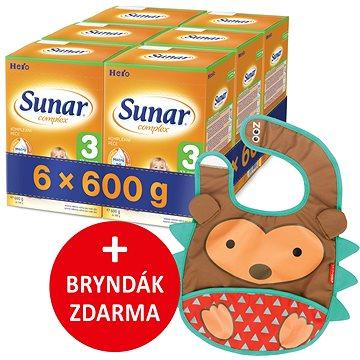 Sunar Complex 3, 6× 600 g + dárek (8592084413958)