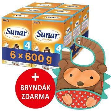 Sunar Complex 4, 6× 600 g + dárek (8592084413965)