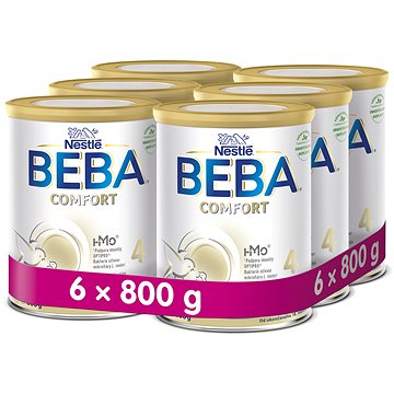 BEBA OPTIPRO COMFORT 4 (6× 800 g) (7613036684521)