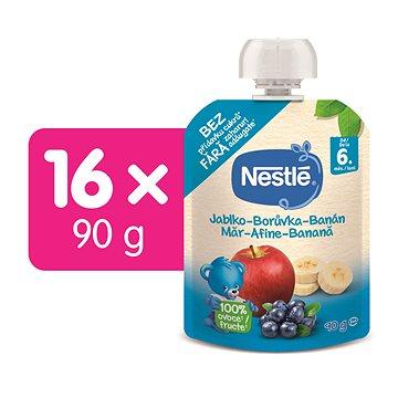 NESTLÉ Jablko Borůvka Banán 14× 90 g (7613034381682)