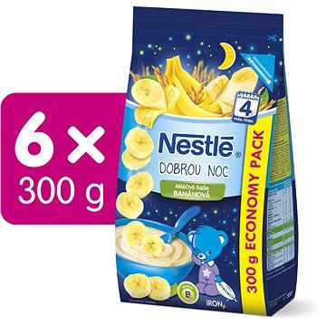 NESTLÉ Banánová Kaše Dobrou noc 6× 300 g (7613035541160)