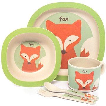 Zopa Bambusová sada nádobí - Fox (8595114495016)
