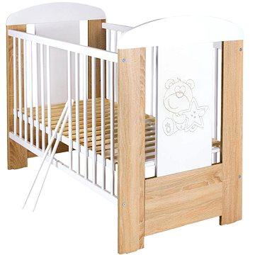 New Baby Medvídek se stahovací bočnicí - dub (8596164039274)