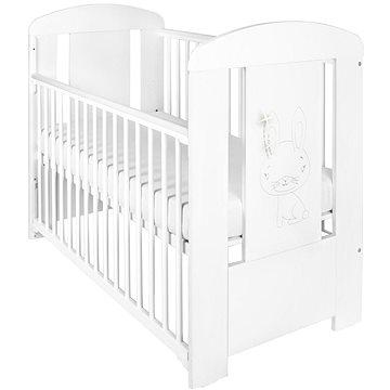 New Baby Králíček se stahovací bočnicí - bílá (8596164039304)