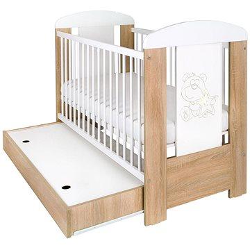 New Baby Medvídek se šuplíkem - dub (8596164039281)