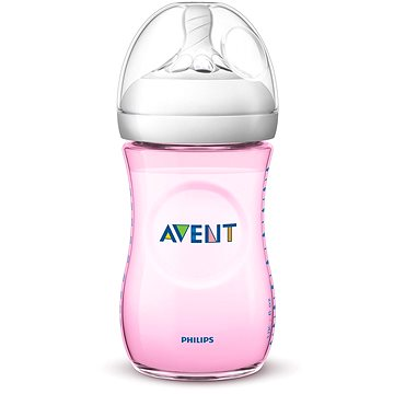 Philips AVENT Natural 260 ml - růžová (8710103875963)