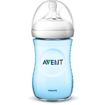 Philips AVENT Natural 260 ml - modrá (8710103876021)