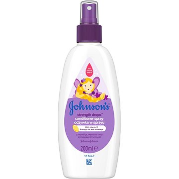 JOHNSON'S BABY Strength Drops posilující kondicionér ve spreji 200 ml (3574661432830)
