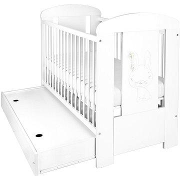 New Baby Králíček se šuplíkem - bílá (8596164039311)