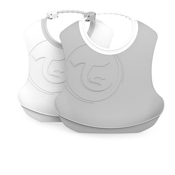 TWISTSHAKE Bryndák plastový - šedá a bílá, 2 ks (7350083125972)