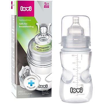 LOVI Samosterilizující láhev 250 ml - super vent (5903407215709)