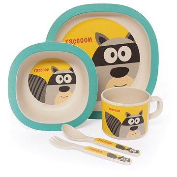 Zopa Bambusová sada nádobí - Raccoon (8595114411252)