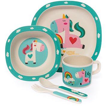 Zopa Bambusová sada nádobí - Unicorn (8595114411245)
