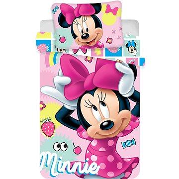 "Jerry Fabrics povlečení do postýlky - Minnie baby ""Sweet"" (8592753019429)"