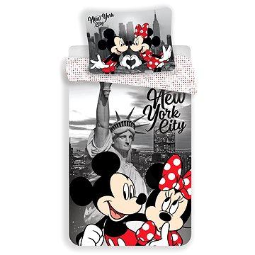 Jerry Fabrics ložní povlečení - Mickey&Minnie in NY (8592753018439)
