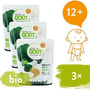 Good Gout BIO Quinoa s brokolicí a ricottou 3× 220 g (8594200260101)