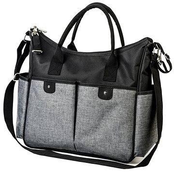 BabyOno přebalovací taška So City! - černá (5901435405949)