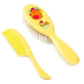 BabyOno dětský set na vlasy - žlutá (5904341207621)