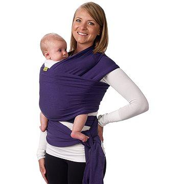 Boba Nosič dětí - šátek Boba Wrap - Purple (896921002670)