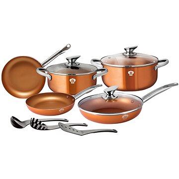 Blaumann Sada nádobí Le Chef Line Rosegold 11ks BL-3342
