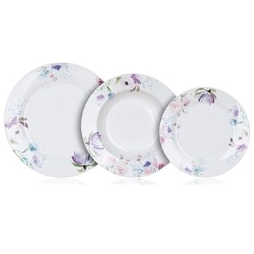 BANQUET Jídelní sada 18ks PINK FLOWERS (60311123)