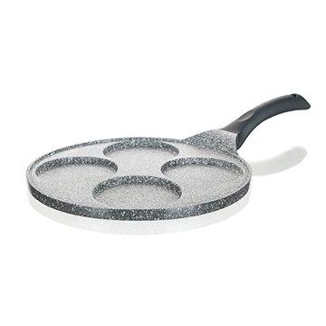 BANQUET Pánev na 4 lívance GRANITE Grey 26cm A15585 (A15585)