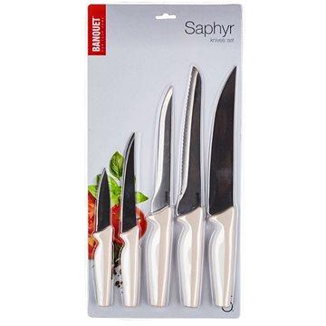 BANQUET Sada nožů SAPHYR, 5 ks, krémová (25055102)