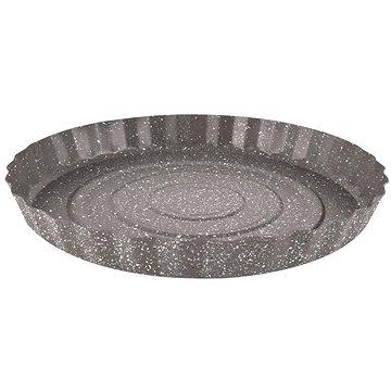 BANQUET Forma vlnitá na koláč s nepřil. povrchem GRANITE 28.5x3.5cm (A12238)