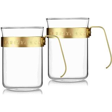 Barista&Co set šálků 2 šálků Midnight Gold (BC024-029)