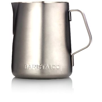 Barista&Co konvička na mléko Electric Steel, 350ml (BC004-005)
