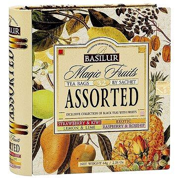 BASILUR Book Assorted 32 Magic Fruit plech 32x2g (7770.01)