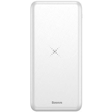 Baseus M36 Wireless Charger Powerbank 10000mAh White (PPALL-M3602)