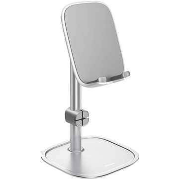 Baseus Literary Youth Desktop Phone Holder Bracket Silver (SUWY-0S)