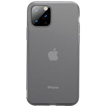 Baseus Jelly Liquid Silica Gel Protective Case pro iPhone 11 Pro Transparent Black (WIAPIPH58S-GD01)