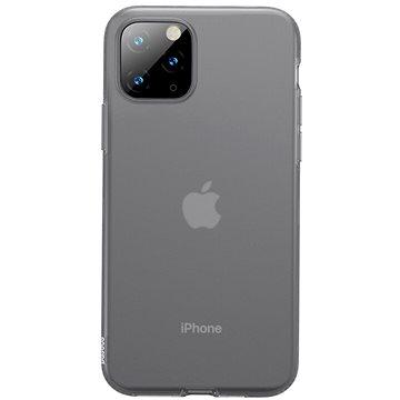 Baseus Jelly Liquid Silica Gel Protective Case pro iPhone 11 Pro Max Transparent Black (WIAPIPH65S-GD01)