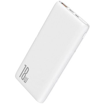 Baseus Bipow Quick Charge Power Bank PD+QC 10000mAh 18W White (PPDML-02)