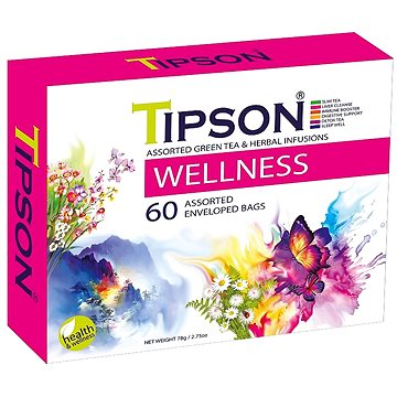 TIPSON Wellness Kazeta Variace přebal 60x1,5g (5056)