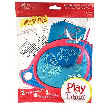 Boogie Board Play and Trace - Zemědělští přátelé, vyměnitelná šablona (ACPL10001)