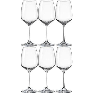 BOHEMIA CRYSTAL Sklenice na červené víno 455 ml GISELLE 6ks (CX40753455/6)