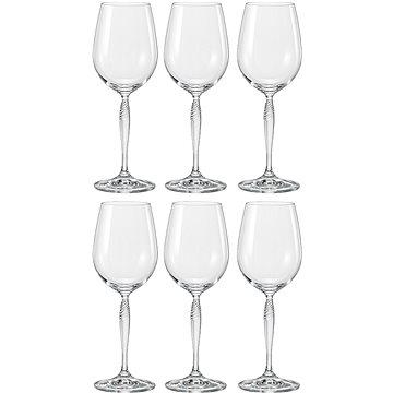 BOHEMIA CRYSTAL Sklenice na bílé víno 340ml KEIRA 6ks (CX40837340/6)