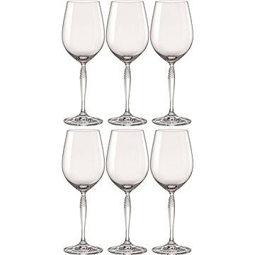 BOHEMIA CRYSTAL Sklenice na bílé víno 440ml KEIRA 6ks (CX40837440/6)